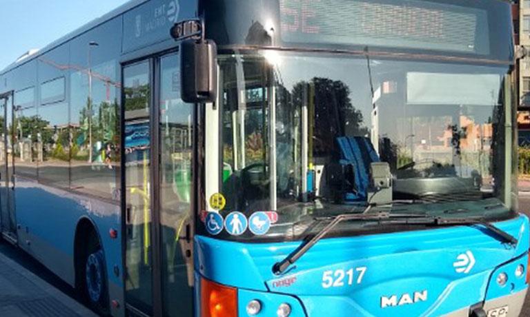 Nuevas paradas de bus para El Cañaveral
