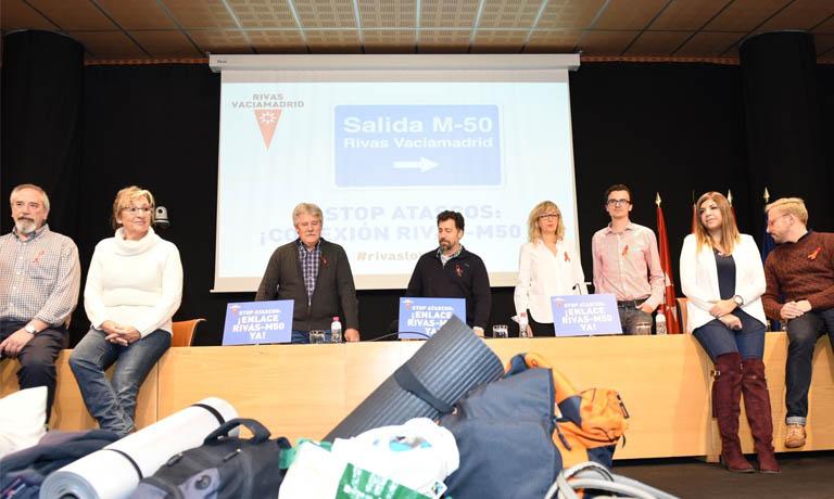 Brosh acude a la convocatoria del Ayuntamiento de Rivas para apoyar el enlace de la M-50